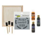 Thankful Wood Decor Kit