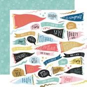 Time To Party Paper - Oh Happy Day! - KasierCraft