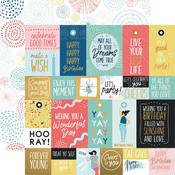 Bright Bursts Paper - Oh Happy Day! - KasierCraft
