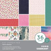 "Native Breeze 6.5""X6.5"" Paper Pad - KaiserCraft"