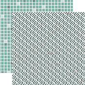Tiles Paper - Lily & Moss - KaiserCraft