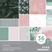 Lily & Moss Kaisercraft 6 x 6 Paper Pad