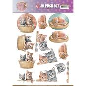 Kittens Punchout Sheet - Find It Trading
