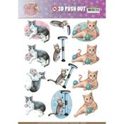 Playing Cats Punchout Sheet - Find It Trading