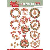Sweet Wreaths Punchout Sheet - Find It Trading