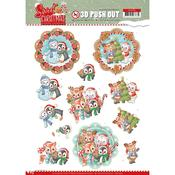 Sweet Winter Animals Punchout Sheet - Find It Trading