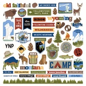Yellowstone  Sticker Sheet - Photoplay