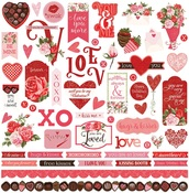 Be Mine Sticker Sheet - Photoplay