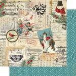 Snowfall Five Paper - Authentique
