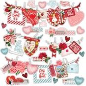 My Valentine Banner Sticker Sheet - Simple Stories
