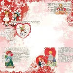 Love You Paper - My Valentine - Simple Stories - PRE ORDER
