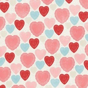 Heart To Heart Paper - My Valentine - Simple Stories