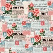 Be Mine Paper - My Valentine - Simple Stories