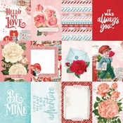 3 x 4 Elements Paper - My Valentine - Simple Stories - PRE ORDER