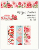 My Valentine Washi Tape - Simple Stories