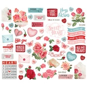 My Valentine Bits & Pieces - Simple Stories