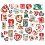 My Valentine Card Ephemera - Simple Stories