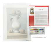 Paint Like Pablo Starter - Intermediate Canvas Kit