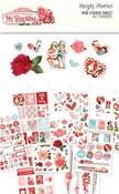 My Valentine Mini Sticker Tablet - Simple Stories