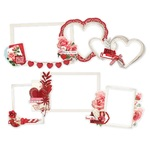 My Valentine Layered Chipboard Frames - Simple Stories