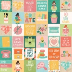 2 x 2 Elements Paper - Hey, Crafty Girl - Simple Stories