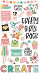 Hey, Crafty Girl Chipboard - Simple Stories