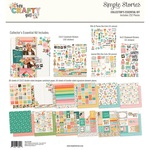 Hey, Crafty Girl Collector's Essential Kit - Simple Stories
