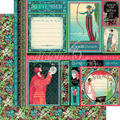 September Paper - Fashion Forward - Graphic 45 - PRE ORDER