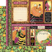 October Paper - Fashion Forward - Graphic 45 - PRE ORDER