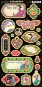 Fashion Forward Chipboard - Graphic 45 - PRE ORDER