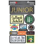 11th Grade You've Been Schooled 3D Dimensional Stickers - Reminisce - PRE ORDER