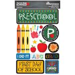 Preschool You've Been Schooled 3D Dimensional Stickers - Reminisce - PRE ORDER