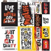 Off-Road Sticker Sheet - Reminisce