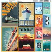 Wanderlust Sticker Sheet - Reminisce - PRE ORDER
