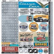 Classic Cars Sticker Sheet - Reminisce - PRE ORDER