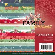 Family Christmas 6 x 6 Paper Pack - Find It Trading - PRE ORDER
