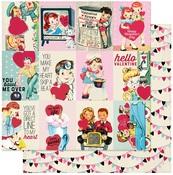 Love Notes Seven Paper - Authentique - PRE ORDER