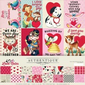 Love Notes 12 x 12 Collection Kit - Authentique - PRE ORDER