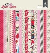 Love Notes 12 x 12 Paper Pad - Authentique - PRE ORDER