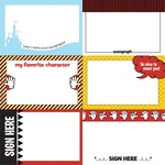 Autograph Cards Paper - Another Day At The Park - Photoplay - PRE ORDER