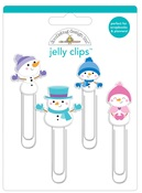 Winter Wonderland Jelly Clips - Doodlebug