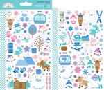 Winter Wonderland Mini Icon Stickers - Doodlebug - PRE ORDER