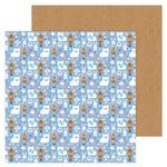 Snow Cozy Paper - Winter Wonderland - Doodlebug - PRE ORDER