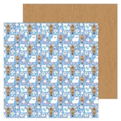 Snow Cozy Paper - Winter Wonderland - Doodlebug