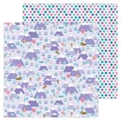 Hit The Slopes Paper - Winter Wonderland - Doodlebug