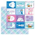 Cozy Cardigan Paper - Winter Wonderland - Doodlebug - PRE ORDER