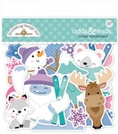 Winter Wonderland Odds & Ends Ephemera - Doodlebug - PRE ORDER