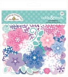 Winter Wonderland Snowflakes Odds & Ends - Doodlebug