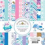 Winter Wonderland 6 x 6 Paper Pad - Doodlebug