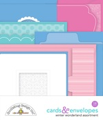 Winter Wonderland Cards & Envelopes - Doodlebug